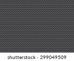 vector fish scale black shadow... | Shutterstock .eps vector #299049509