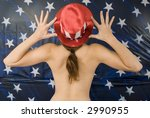 American Girrl! - stock photo