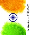 creative indian independence... | Shutterstock .eps vector #299099669