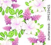 abstract elegance seamless... | Shutterstock .eps vector #299125421