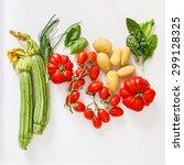 fresh vegetables | Shutterstock . vector #299128325