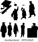 graduation students collection  ... | Shutterstock .eps vector #29913565