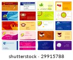set of colorful abstract... | Shutterstock .eps vector #29915788