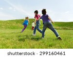 summer  childhood  leisure and... | Shutterstock . vector #299160461