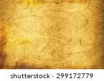 old brown dirty paper | Shutterstock . vector #299172779