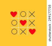 Tic Tac Toe Game With Cross An...