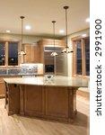 modern granite and wood decor... | Shutterstock . vector #2991900