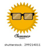 summer glasses digital design ... | Shutterstock .eps vector #299214011