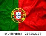 portugal flag. illustration | Shutterstock . vector #299263139