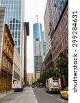 frankfurt am main  germany  ... | Shutterstock . vector #299284631