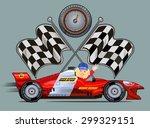 sport race car | Shutterstock .eps vector #299329151