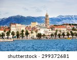 Beautiful City Of Split In...