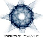 Fractal Radial Pattern On The...
