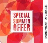 Vector Summer Sale Design...