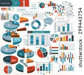 infographic and diagram...   Shutterstock .eps vector #299443754