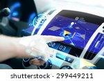 transport  destination  modern... | Shutterstock . vector #299449211