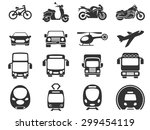 vector vehicle and transport... | Shutterstock .eps vector #299454119