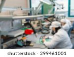production of electronic... | Shutterstock . vector #299461001