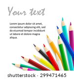 concept idea with colorful... | Shutterstock .eps vector #299471465