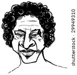 afro man   Shutterstock .eps vector #29949310