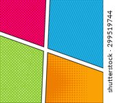 abstract creative concept... | Shutterstock .eps vector #299519744