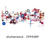 abstract graphic art | Shutterstock . vector #2995489