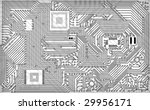 tech industrial electronic... | Shutterstock . vector #29956171