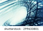 3d futuristic background | Shutterstock . vector #299633801