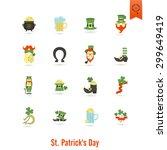 saint patricks day isolated... | Shutterstock .eps vector #299649419