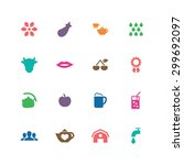 ecology icons universal set for ... | Shutterstock .eps vector #299692097