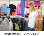 Young Woman Shopping For...