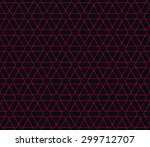 seamless red and black islamic... | Shutterstock .eps vector #299712707