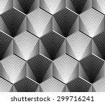 design seamless monochrome... | Shutterstock .eps vector #299716241