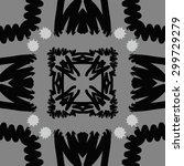 circular seamless  pattern of... | Shutterstock . vector #299729279