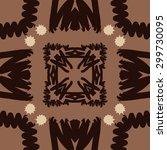 circular seamless  pattern of... | Shutterstock . vector #299730095