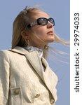 woman in luxurious dress posing ...   Shutterstock . vector #29974033