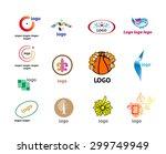 illustrations for logos | Shutterstock .eps vector #299749949
