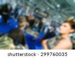 makeup and hair artists...   Shutterstock . vector #299760035