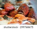 Fresh Red Scorpion Fish And...
