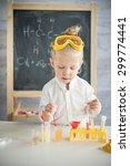 little scientist | Shutterstock . vector #299774441