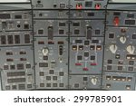An Overhead Control Panel In A...