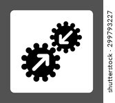 integration icon. vector style... | Shutterstock .eps vector #299793227