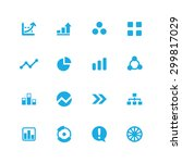 diagram icons universal set for ... | Shutterstock . vector #299817029