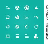 diagram icons universal set for ... | Shutterstock . vector #299820491