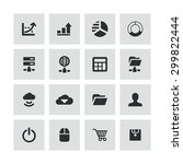development  soft icons... | Shutterstock . vector #299822444