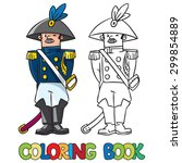 coloring book or coloring... | Shutterstock .eps vector #299854889