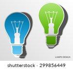 light lamp sign icon  flat...