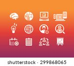 business icons | Shutterstock .eps vector #299868065