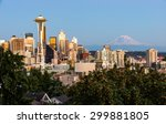 Beautiful Seattle In The...