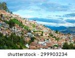 cityscape of cusco in peru   Shutterstock . vector #299903234